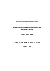 Bachelor Thesis In Hospitality Industry